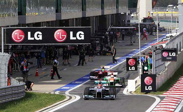 F1 Confidential James Parrish LG Brand F1 Exposure
