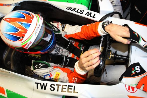 F1 Confidential James Parrish Luxury TW Steel Force India F1 Watch Timing Partner